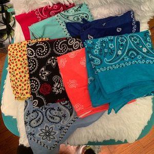 Variety pack of bandanas